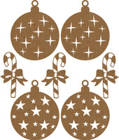 Oranament Pack - Chipboard Embellishment