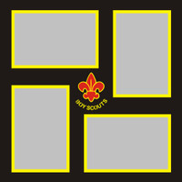 Boy Scouts - 12x12 Overlay