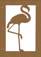 Flamingo Chipboard Album