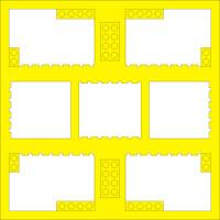 Blocks (Choose Color) - 12x12 Overlay