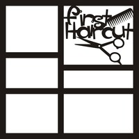 First Haircut - 12x12 Overlay