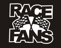 RACE FANS - Die Cut