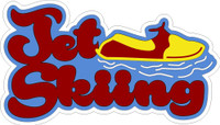 Jet Skiing  - Die Cut