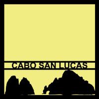 Cabo San Lucas - 12x12 Overlay