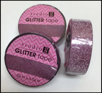 Washi Tape - Purple Glitter