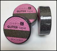 Washi Tape - Black Glitter