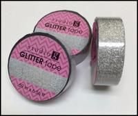 Washi Tape - Silver Glitter