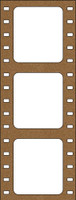 Film Strip - Chipboard Embellishments
