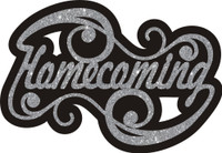 Homecoming with Swirls - Die Cut