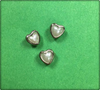 Heart Brads Tiny 6 Pack