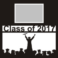 Class of 2017 with Graduates - 12x12 Overlay