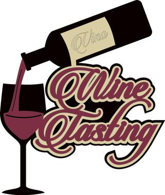 Wine Tasting - Laser Die Cut - Want2Scrap
