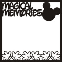 Magical Memories 2 - 12x12 Overlay