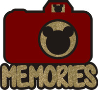 Memories Camera with Mouse Ears Lense - Die Cut