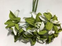 White Sage Paper Flower #8091