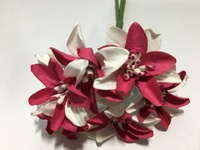 White Fuchsia  Paper Flower #8091