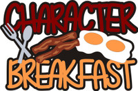 Character Breakfast - Die Cut