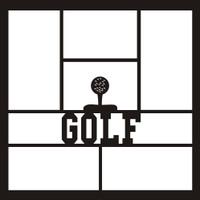 Golf - 12x12 Overlay