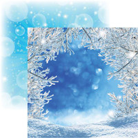 Magical Winter - - Reminisce Double Sided 12 x 12 Paper
