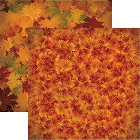 Fall Colors - Reminisce Double Sided 12 x 12 Paper