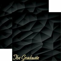 The Graduate #1 - Reminisce Double Sided 12 x 12 Paper