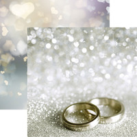 Wedding Rings - Reminisce Double Sided 12 x 12 Paper