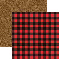 Hunters Plaid - Reminisce Double Sided 12 x 12 Paper