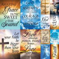 Devoted Faith 2 - 12 x 12 Poster Sticker