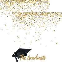 The Graduate 2017 - Reminisce Double Sided 12 x 12 Paper