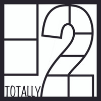 Totally 2 - 12x12 Overlay