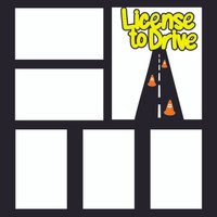 License to Drive - 12x12 Overlay