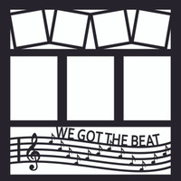 We Got The Beat - 12x12 Overlay