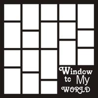 Window to my world - 12 x 12 Scrapbook OL