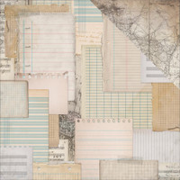 SCRAP PAPER - KAISERCRAFT DOUBLE SIDED PAPER