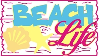 Beach Life - Laser Die Cut
