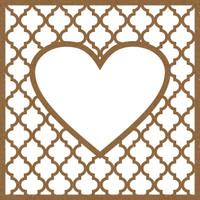 Elegant Heart Frame