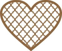 Heart Filigree Frame