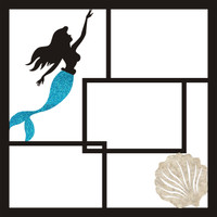 Mermaid - 12 x 12 Scrapbook OL