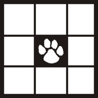 Dog Paw - 12 x 12 Scrapbook OL