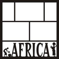 Africa 1 - 12 x 12 Scrapbook OL