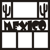 Mexico 1 - 12 x 12 Scrapbook OL