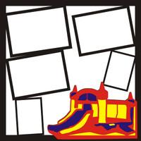 Bounce House - 12 x 12 Scrapbook OL