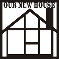 Our New House - 12 x 12 Scrapbook OL