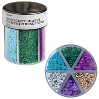 Glitter Caddy: Dark Hearts & Stars