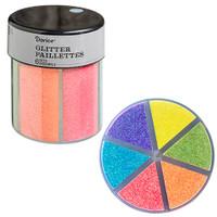 Glitter Caddy: Neon