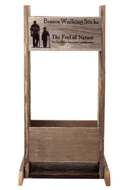 Barnwood Display Stand