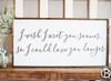 I Wish I'd Met You Sooner 36x16 SMALLER SIZE Framed Wood Sign
