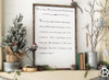 Twas The Night Before Christmas 24x36 Framed Wood Sign