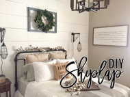 Do It Yourself Shiplap!