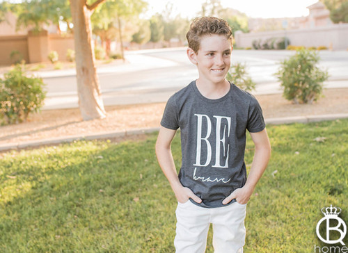 Be Brave KIDS Cotton Tee